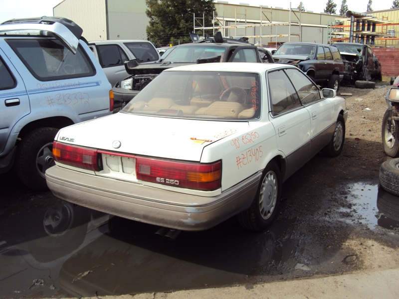 1990 Lexus Es 250 Model 4 Door Sedan 2 5l V6 At 2wd Color