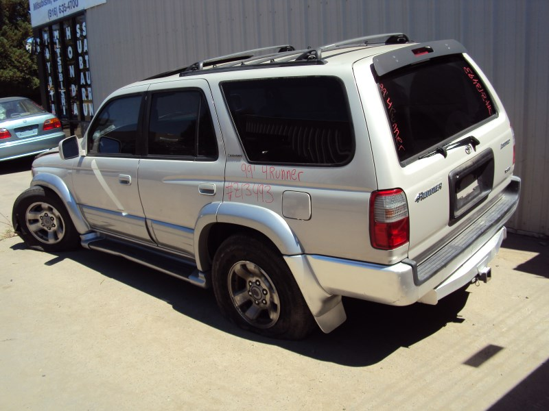 1999 toyota 4runner suv limited model 3 4l v6 at 2wd color silver z13493 rancho toyota recycling. Black Bedroom Furniture Sets. Home Design Ideas
