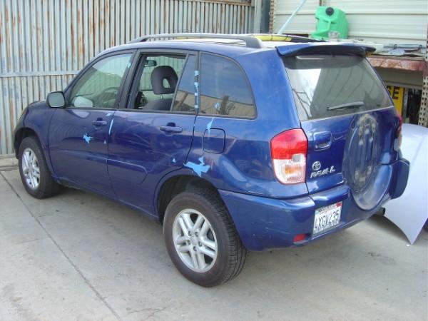 2002 Toyota Rav4 2x4 Auto Blue Stk Z09053 Rancho