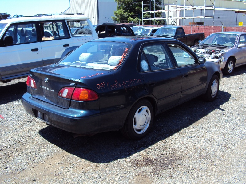 1999 toyota corolla ce model 1 8l engine automatic transmisson 4spd color green stk z11179 rancho toyota recycling used toyota truck parts