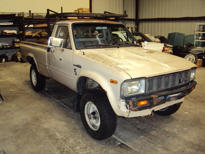 Toyota Pickup Parts >> 1982 Toyota Pick Up Regular Cab Long Bed Deluxe Model 2 4l