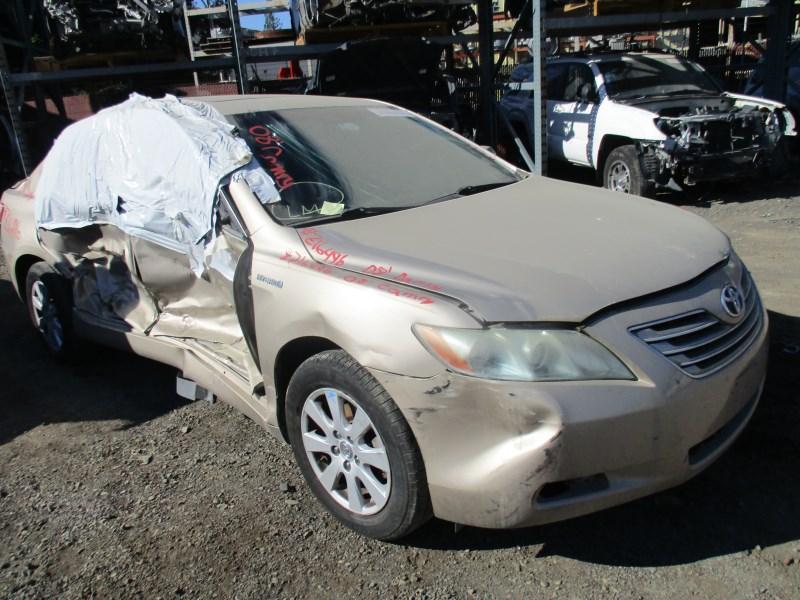 2008 Toyota Camry Hybrid Tan 2 4l At Z16496