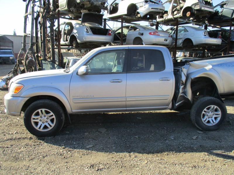 2005 TOYOTA TUNDRA SR5 SILVER DOUBLE CAB 4.7L AT 2WD Z16346 ...