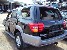 2002 TOYOTA SEQUOIA, 2WD, FULLY LOADED STK # T10302