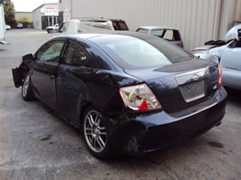 2006 SCION TC MODEL 2 DOOR COUPE 2.4L AT FWD COLOR BLUE Z14592