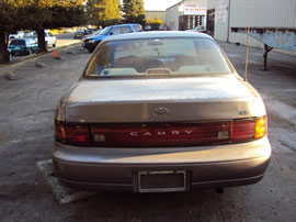 1994 TOYOTA CAMRY LE MODEL 4 DOOR SEDAN 2.2L AT FWD COLOR PURPLE Z14604