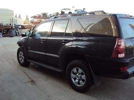 2005 TOYOTA 4RUNNER SUV SR5 MODEL 4.0L V6 AT 2WD WITH AUTO LSD REAR DIFF COLOR BLACK STK Z13401