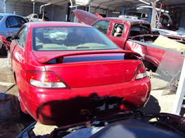 1999 TOYOTA SOLARA 2 DOOR COUPE SE MODEL 3.0L AT FWD COLOR RED Z14638