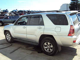 2004 TOYOTA 4RUNNER SR5 MODEL 4.7L V8 AT 2WD COLOR SILVER STK Z13436