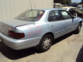 1996 TOYOTA CAMRY 4 DOOR SEDAN LE MODEL 3.0L V6 AT FWD COLOR BLUE Z13494