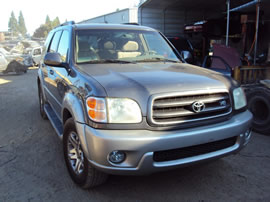 2003 TOYOTA SEQUOIA SUV SR5 MODEL 4.7L V8 AT 2WD COLOR GRAY Z13507