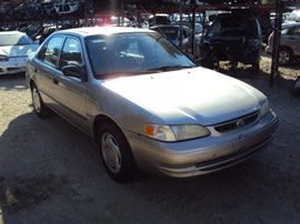 1999 TOYOTA COROLLA 4 DOOR SEDAN VE MODEL 1.8L AT 3 SPEED FWD COLOR PURPLE Z14734