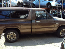 1983 TOYOTA PICK UP HI LUX REGULAR CAB SR5 MODEL 2.4L CARBURETOR MT 5 SPEED 2WD COLOR BROWN Z14745