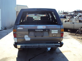 1988 TOYOTA 4RUNNER 2 DOOR SR5 MODEL 3.0L V6 MT 4X4 COLOR GRAY Z13531