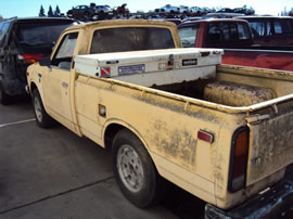 1973 TOYOTA PICK UP TRUCK REGULAR CAB STANDARD MODEL 2.0L MT 2WD COLOR BEIGE Z14775