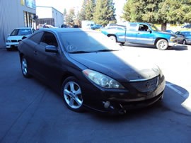 2004 TOYOTA SOLARA 2 DOOR COUPE SE MODEL 3.3L V6 AT FWD COLOR BLACK Z13547