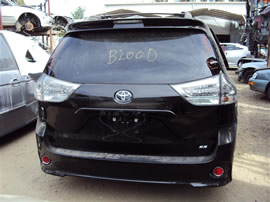 2013 sienna sport 3.5 automatic transmission ext black Z14793