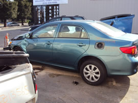 2009 TOYOTA COROLLA 4 DOOR SEDAN LE MODEL 1.8L AT FWD COLOR TURQUOISE Z13566