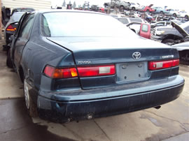 1997 TOYOTA CAMRY LE, 2.2L AUTO, COLOR GREEN, STK Z15842