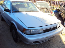 1988 TOYOTA CAMRY, 4CYL ENGINE, AUTOMATIC TRANSMISSION, COLOR SILVER, STK#Z10110