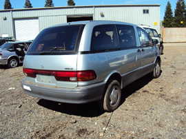 1993 TOYOTA PREVIA LE MODEL ALLTRAC ,2.4L AT AWD, COLOR BLUE, STK# Z11180
