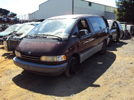 1999 TOYOTA PREVIA 2.4L AT AWD COLOR RED STK Z11199