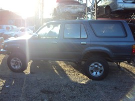 1990 TOYOTA 4RUNNER, 3.0L, 5SPEED 4WD, COLOR GRAY, STK Z15886