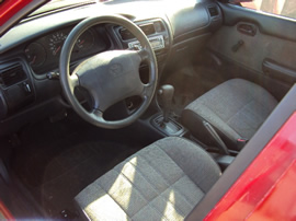 1995 TOYOTA COROLLA 4 DOOR SEDAN STANDARD MODEL 1.6L AT 3SPEED FWD COLOR RED STK Z11217