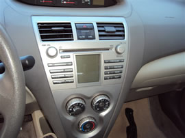 2009 TOYOTA YARIS, 1.5L AUTO FWD,COLOR WHITE, STK Z14815