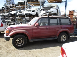 1994 TOYOTA LANDCRUISER BURGUNDY 4.5L AT 4WD Z16459