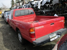 2000 TOYOTA TACOMA SR5 RED XTRA 2.4L AT 2WD Z17602