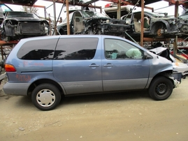 1998 TOYOTA SIENNA LE SKY BLUE 3.0L AT Z17614