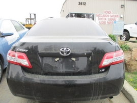 2010 TOYOTA CAMRY LE BLACK 2.5L AT Z16206