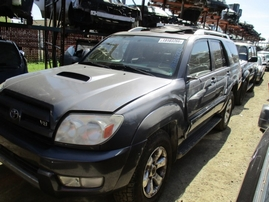 2004 TOYOTA 4RUNNER SR5 METALLIC GRAY 4.7 AT 2WD Z16223