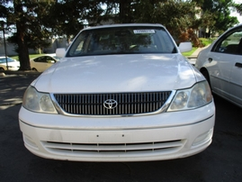 2001 TOYOTA AVALON XL PEARL WHITE 3.0L AT 2WD Z15969