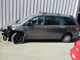 2005 TOYOTA SIENNA LE GRAY 3.3L AT 2WD Z16232