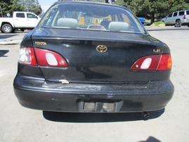 1998 TOYOTA COROLLA LE BLACK 1.8L AT 4DR Z15979