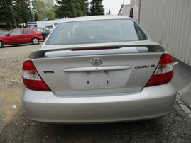 2004 TOYOTA CAMRY SE SILVER 2.4L AT Z16283
