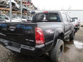 2008 TOYOTA TACOMA SR5 BLACK DOUBLE CAB 4.0L AT 4WD Z17571