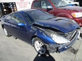 2002 TOYOTA CELICA GT BLUE 1.8L AT 2DR Z15023