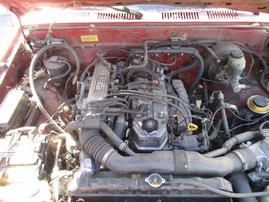 1993 TOYOTA TRUCK RED HALF TON 2.4L AT 2WD SHORT BED STANDARD CAB Z15024