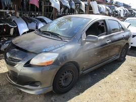 2007 TOYOTA YARIS S BLACK 1.5L AT Z17632