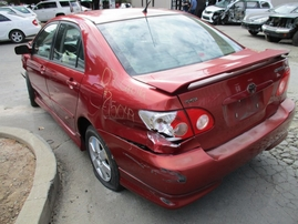 2007 TOYOTA COROLLA S PEARL RED 1.8L AT Z15049
