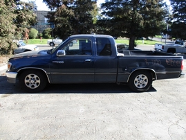 1996 TOYOTA T100 SR5 NAVY XTRA CAB 3.4L AT 2WD Z15093