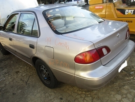 1999 TOYOTA COROLLA VE GOLD 1.8L AT Z15099