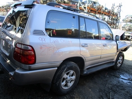 1999 TOYOTA LAND CRUISER SILVER 4.7L AT 4WD Z15125
