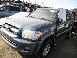 2006 TOYOTA SEQUOIA SR5 BLUE 4.7L AT 2WD Z16402