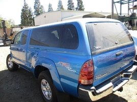 2007 TOYOTA TACOMA PRERUNNER SR5 XTRA CAB BLUE 4.0L AT 2WD Z16412
