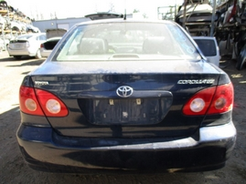 2007 TOYOTA COROLLA CE NAVY 1.8L AT Z16415