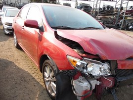 2010 TOYOTA COROLLA LE RED 1.8L AT Z18394